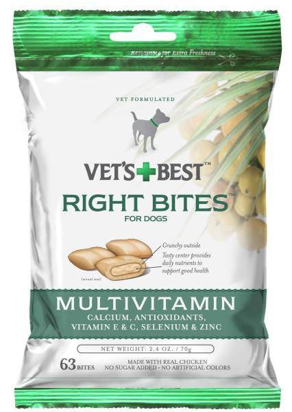 10352VB Right Bites Multivitamin Dog Treats