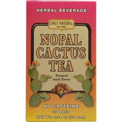 1086339 Nopal Cactus Tea Caffeine Free Natural Mint - 20 Tea Bags