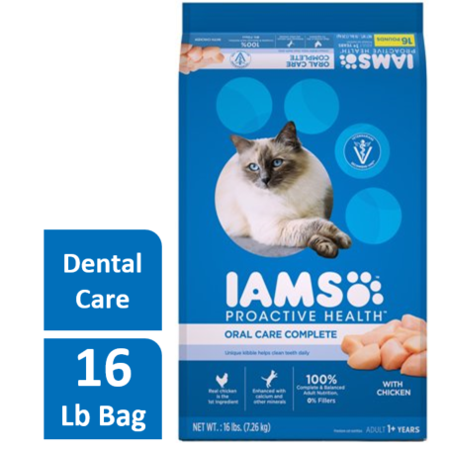 109116 No.16 Proactive Health Oral Care Complete Premium Cat Food