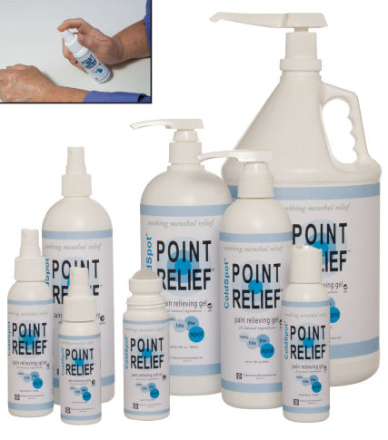 11-0702-1 Point Relief ColdSpot Spray 16 Ounce
