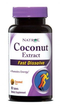 1126507 Coconut Extract Coconut Flavor 90 Tablets - 90 Tablets