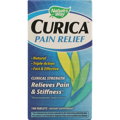 1131325 Curica Pain Relief - 100 Tablets