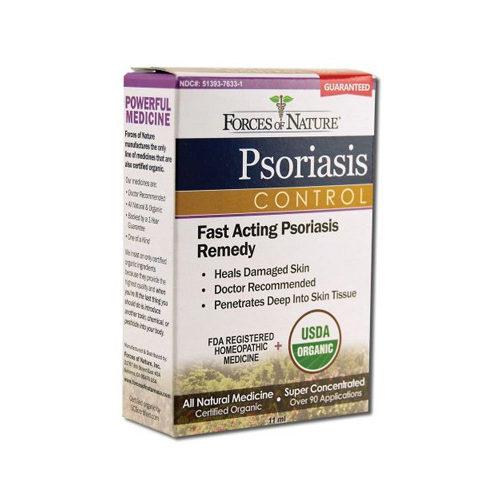 1138163 Organic Psoriasis Control, 11 ml