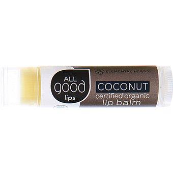 114702 All Good Organic Coconut Lip Balm