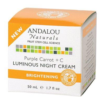 1162551 Luminous Night Cream Purple Carrot plus C 1.7 fl oz - 50 ml - 1.7 oz