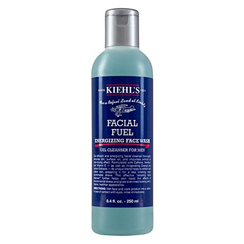 116338 Facial Fuel Energizing Face Wash Gel Cleanser