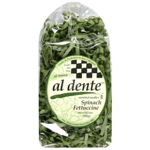 119974 Spinach Fettuccine Pasta