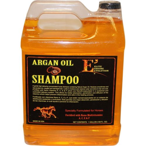 120128 1 gal Argan Oil Shampoo - Honey, Pack of 4