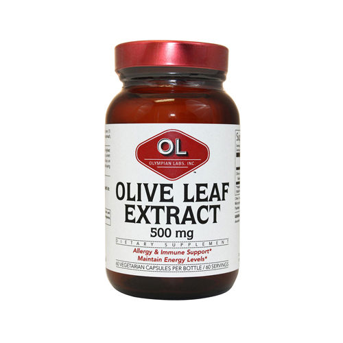 1214337 Olive Leaf Extract Capsules, 500 mg - 60 Count