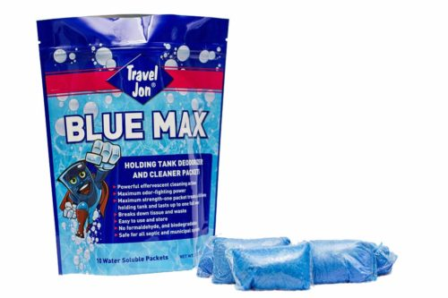 1222.2029 Travel Jon Blue Max Tablets - Pack of 10