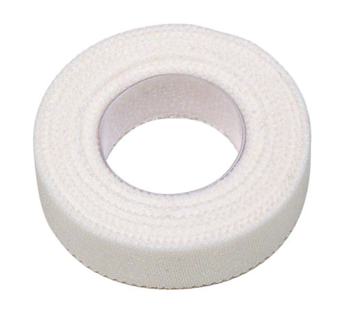 12302 Adhesive Tape 0.5 in. X 10 Yards, Case of 6 - White
