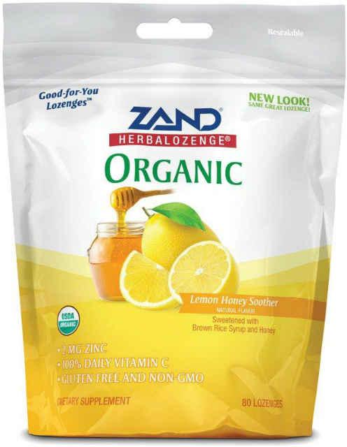 126471 80 oz Lemon Honey Soother Lozenges - 6 Per Case