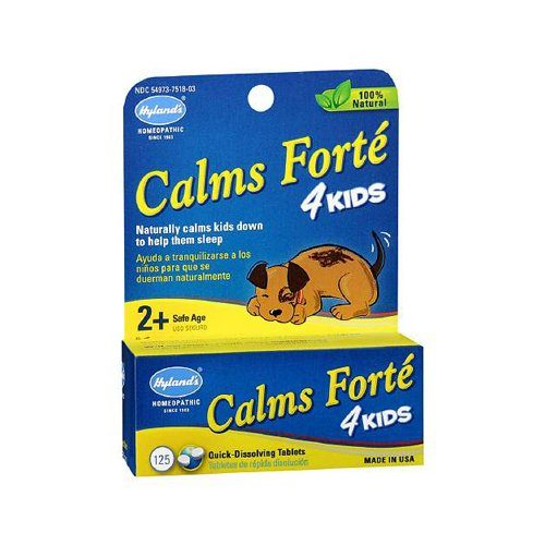 1267871 Homeopathic Calms Forte 4 Kids, 125 Tablets