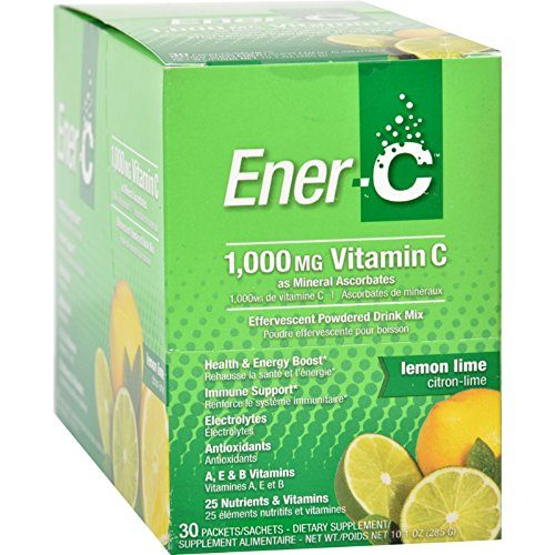 1275205 Vitamin Lemon Lime Drink Mix, 1000 mg - Pack of 30