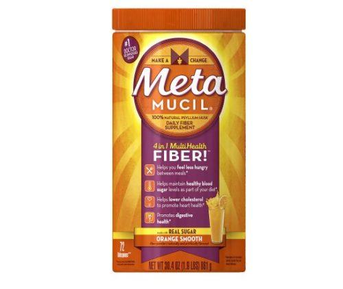1309463 MultiHealth Daily Fiber Supplement Powder Orange Smooth - 72 Tablespoon