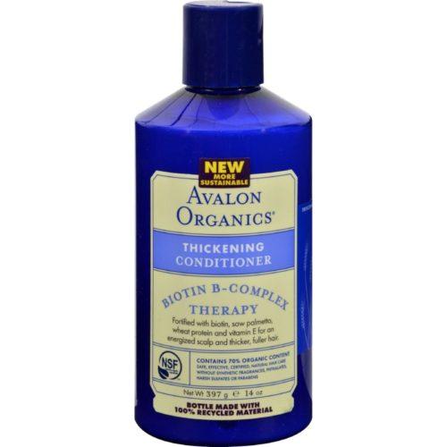 14 fl oz Organics Thickening Conditioner Biotin B-complex Therapy