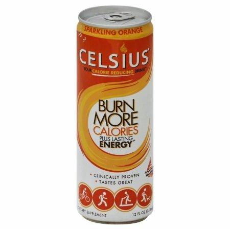146522 Sparkling Orange Energy Drink - 12 oz.