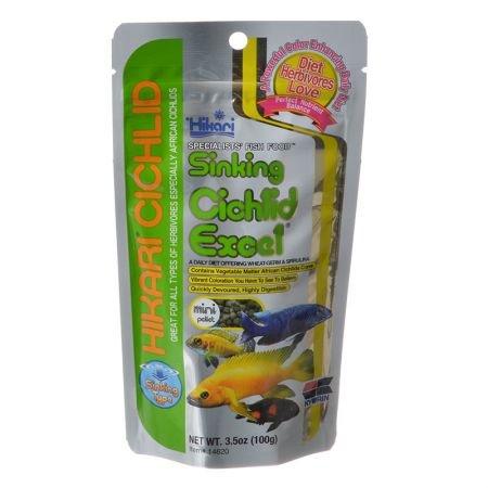 14666 Cichlid Excel Sinking Fish Food - Mini Pellet