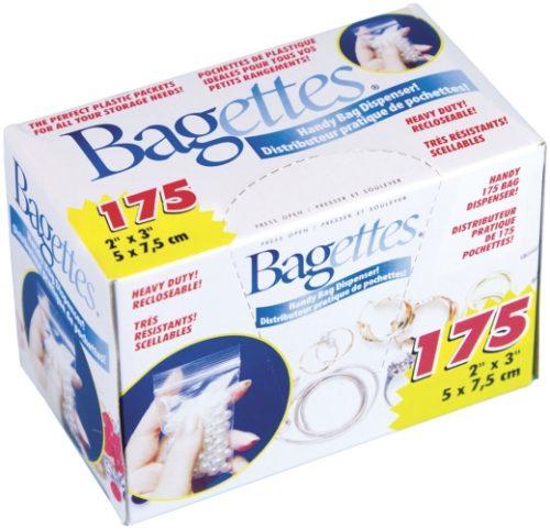14770 Bagettes Heavy Duty Reclosable Bags 175/Pkg