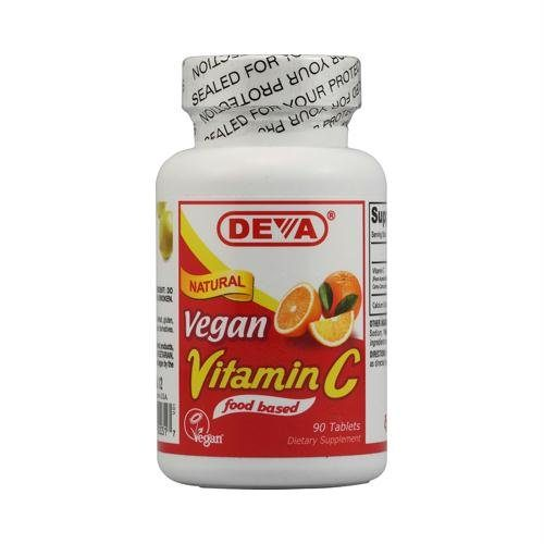 151662 Deva Vegan Vitamin C - 90 Tablets