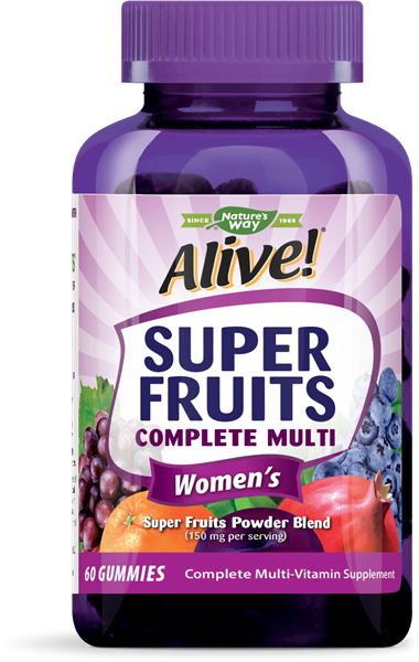 1532508 60 Chew Super Fruits Womens Multi Gummies