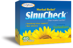 153941 SinuCheck Sinus Support - 40 Softgels