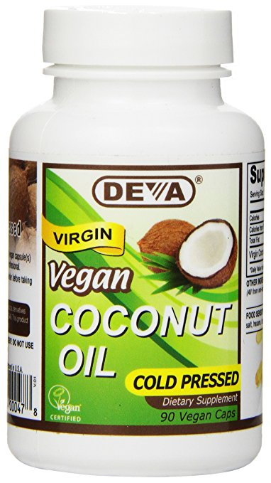 1582469 Coconut Oil Capsules - 90 Tablets