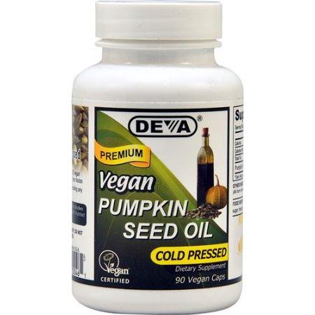 1582485 Pumpkin Seed Oil Capsules, 90 Vegan Capsules
