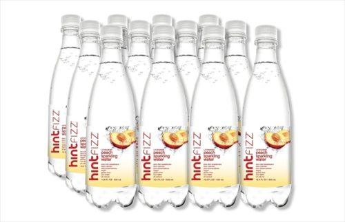 16 fl oz, Fizz Sparkling Water, Peach