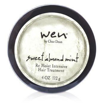 168699 4 oz Sweet Almond Mint Re Moist Intensive Hair Treatment