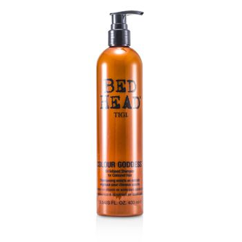 169771 13.5 oz Bed Head Colour Goddess Oil Infused Shampoo for Coloured Hair