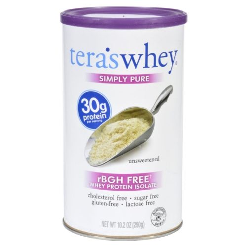 1704246 10.2 oz Unsweetened Protein Isolate Whey Simply Pure