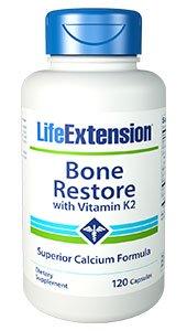 1727 Bone Restore with Vitamin K2, 120 Capsules