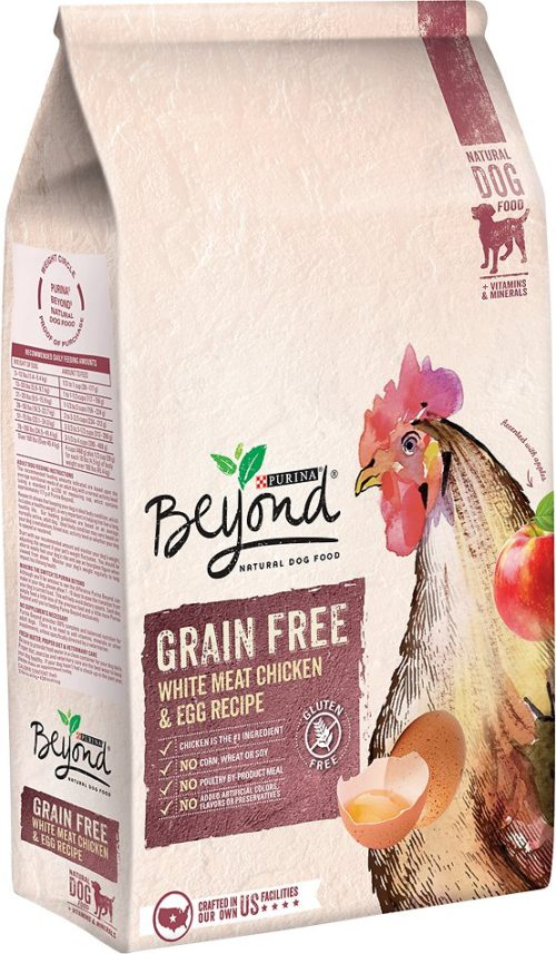 178180 13 lbs Beyond White Meat Chicken & Egg Recipe Grain-Free Dry Dog Food, Case of 6