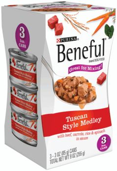 178338 Beneful Prp Ml Tuscan Mp 8-3-3Z Pack of 8