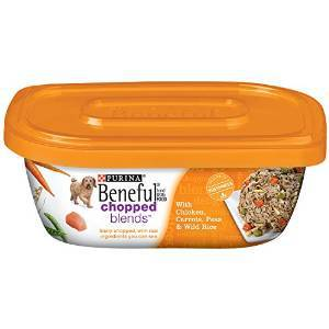 178361 10 oz Beneful Chopped Blends Wet Dog Food with Chicken, Carrots, Peas & Wild Rice, Case of 8