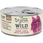 178545 3 oz Beyond Wild Wet Cat Food - Salmon Liver & Arctic Char, Pack of 12
