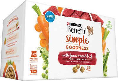 178597 9.4 lbs Beneful Simple Goodness with Farm-Raised Beef Dry Dog Food