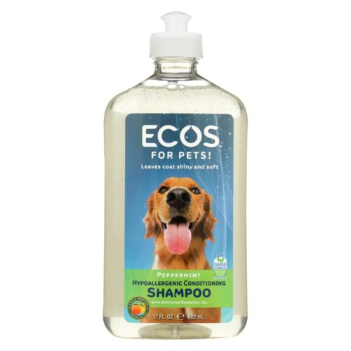 1796333 17 fl oz Hypoallergenic Conditioning Pet Shampoo - Peppermint