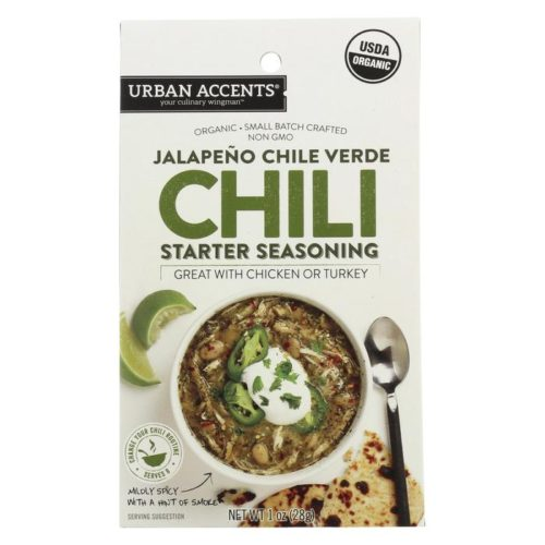 1818178 1 oz Chili Starter Seasoning, Jalapeno Chili Verde Spice - Case of 6