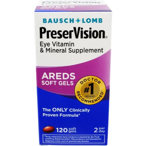 1878530 Bausch & Lomb Preservision Soft Gels