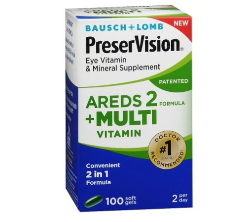 1878603 PreserVision Areds 2 Multi-Vitamins - 100 Soft Gel