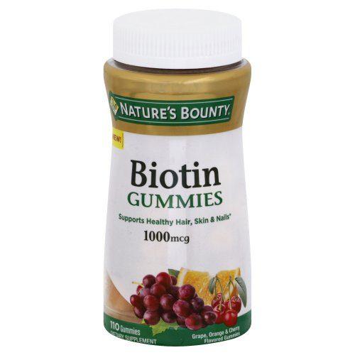1890638 1000 mg Natures Bounty Biotin Gummies - 110 Count