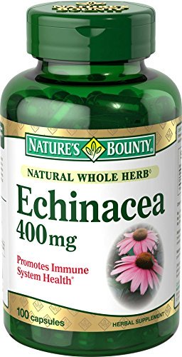 1890816 Natures Bounty Echinacea, 400 mg, 100 Count
