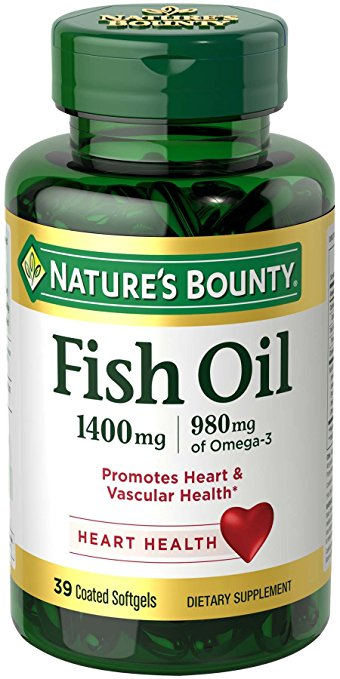 1890859 Natures Bounty Fish Oil, 1400 mg - 39 Count