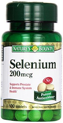1891200 Natures Bounty Selenium 200 mg, 100 Tablets