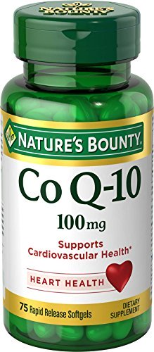1891278 Natures Bounty Q Sorb 100 mg , 75 Count