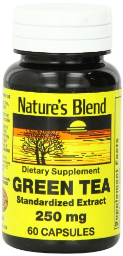 1896725 Natures Blend Green Tea Extract 250 mg 60 Capsules