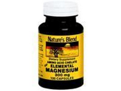 1897039 Natures Blend Magnesium 300 mg Capsules - 100 Count