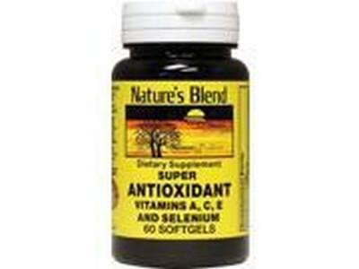 1897802 Natures Blend Super Antioxidant Aces 60 Soft Gels